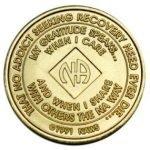 NA Bronze Medallions 42 Year NA Bronze Medallion