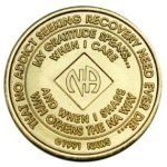 NA Bronze Medallions 27 Year NA Bronze Medallion