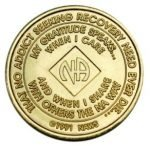 NA Bronze Medallions 14 Year NA Bronze Medallion