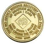 NA Bronze Medallions 5 Year NA Bronze Medallion