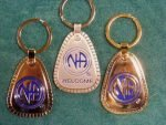 Keychain Medallion Holders and Metal Key Tags NA Metal Multiple Years Key Tag Lg.
