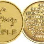 NA Specialty Medallions Keep it Simple, Bronze