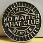 NA Lapel Pins No Matter What Lapel Pin