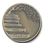 NA Specialty Medallions 12 Principles Bronze
