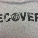 NA T-Shirts Recovery Gray Pocket T-Shirt