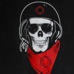NA T-Shirts Skull on back with Pocket T-Shirt