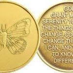 NA Specialty Medallions Butterfly, Bronze Medallion
